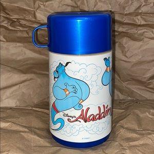 Disney Aladdin Genie 8oz kids vintage thermos
